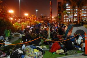 Comic-Con Camping Out for Hall H