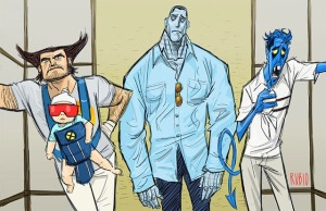 X-Men_Hangover_by_Bobby_Rubio