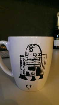 "@ScottNorth ""his is the droid I'm looking for every morning. """