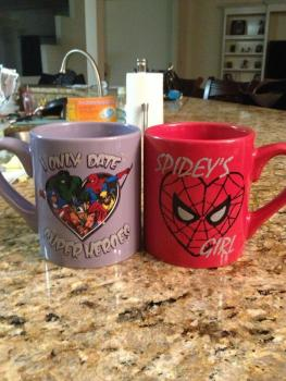 "‏@IfIWereMagneto ""Double dose! Gifts courtesy of my niece and nephew & their knowledge of how much I love Marvel. XD"""