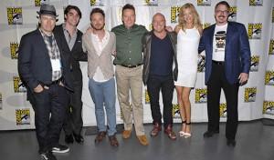 Bob Odenkirk, RJ Mitte, Aaron Paul, Bryan Cranston, Dean Norris, Anna Gunn, Vince Gilligan