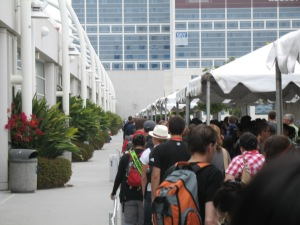 typical line for ballroom 20