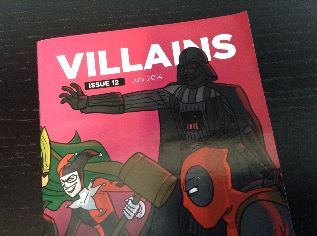 July Loot Crate: Villains