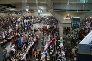 Comic Con 2007 floor image