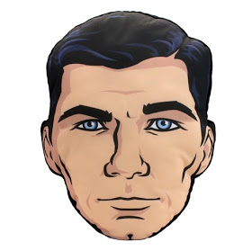 Factory Entertainment SDCC 2015 Archer Head Pillow