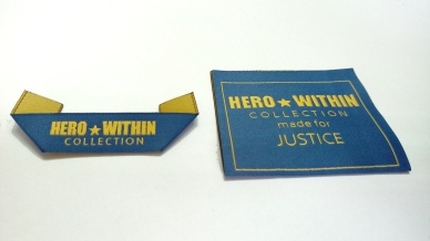 HERO woven labels photo