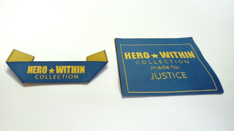 HERO woven labels photo
