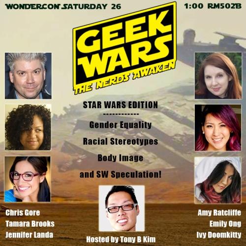 WonderCon Geek Wars