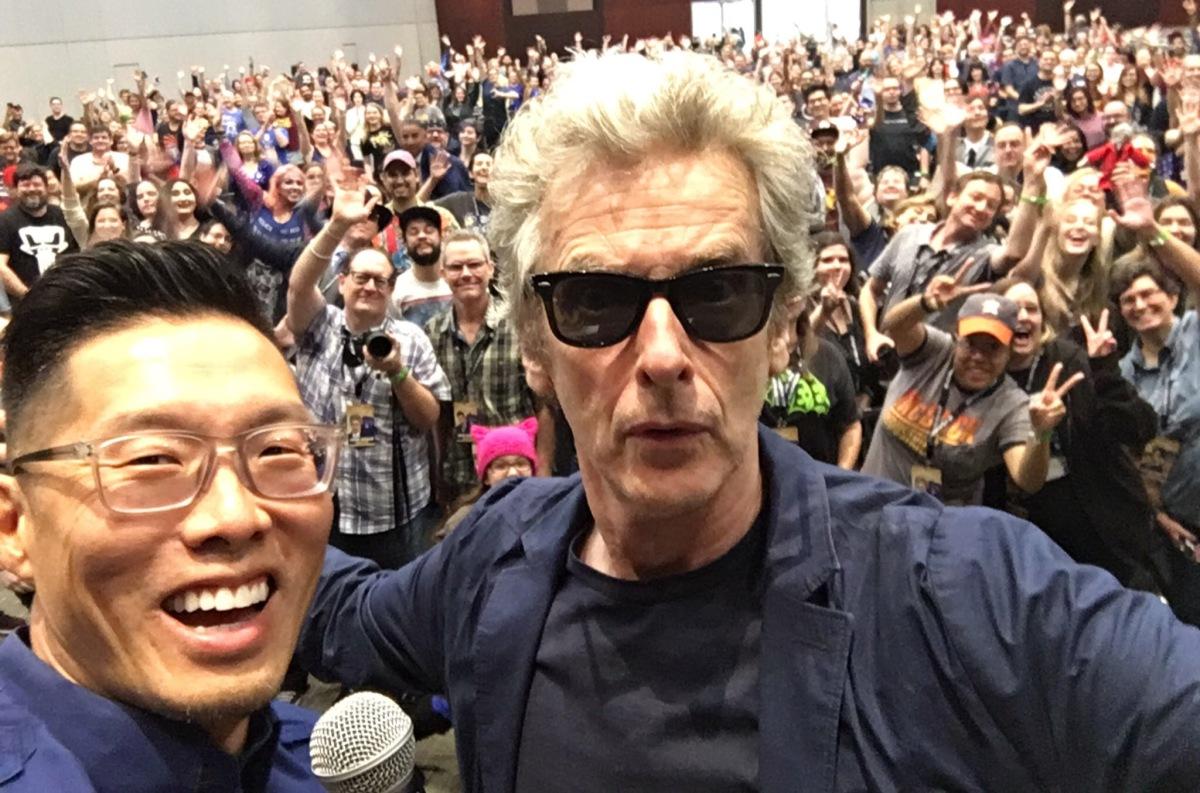 Peter Capaldi Interview at Austin Comic Con