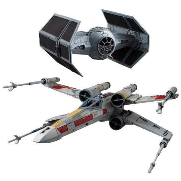 Bandai Spirits Hobby X-Wing Tie Fighter Father's Day Bundle